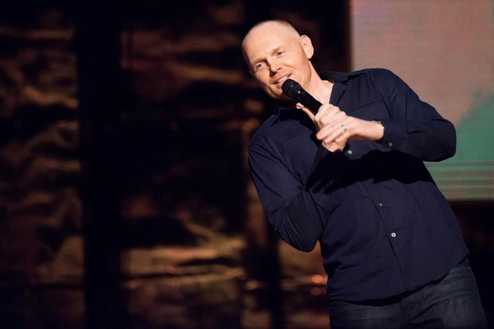 "Bill Burr onstage at Comedy Central's ""Night of Too Many Stars"" in February."